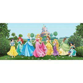 Fototapet Printese Disney pe pajiste