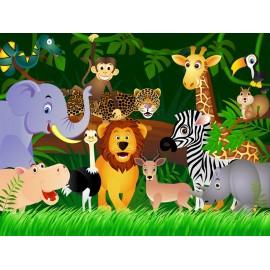 Fototapet Animale africane