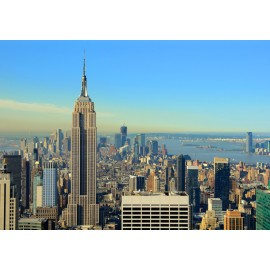 Fototapet New York - East River