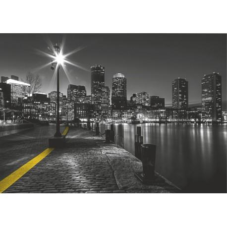 Fototapet Peisaj urban nocturn