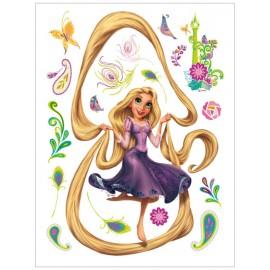 Stickere perete Rapunzel