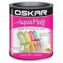Vopsea acrilica Oskar Aqua Matt Alb contemporan 0.6l
