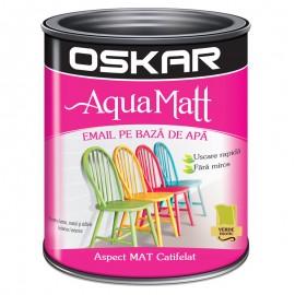 Vopsea acrilica Oskar Aqua Matt Verde exotic