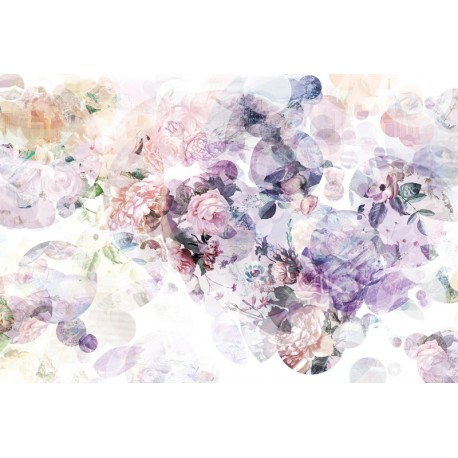 Fototapet design floral - Dorinta si romantism