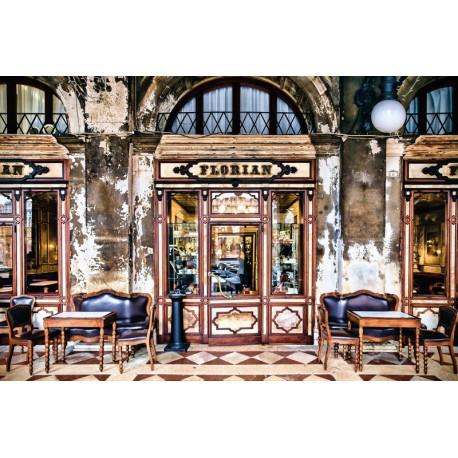 Fototapet orase Venetia - Caffe Florian