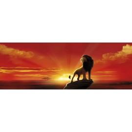 Fototapet Lion King - Apus de soare