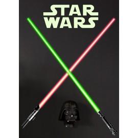 Stickere perete Star Wars Sabii laser