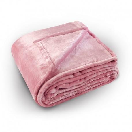 Cuvertura pufoasa Pilonga roz