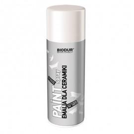 Spray vopsea efect portelan Biodur alb pentru cada