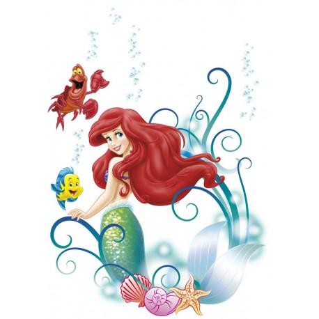 Stickere perete Mica Sirena Ariel