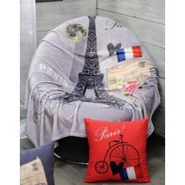 Patura gri Metropole cu Turnul Eiffel