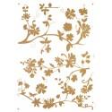 Stickere perete Crengi cu motive florale