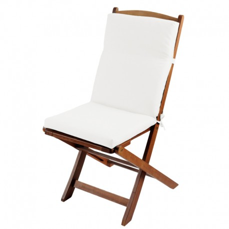 Perna scaun terasa Sunny alb-ecru