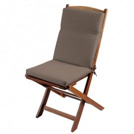 Perna scaun terasa Sunny grej-taupe