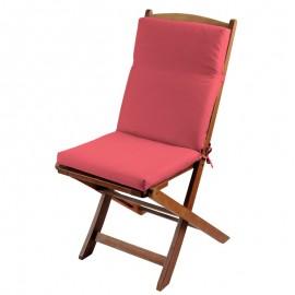 Perna scaun terasa Sunny rosu pastel