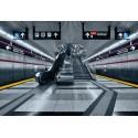 Fototapet modern - Statie de metrou