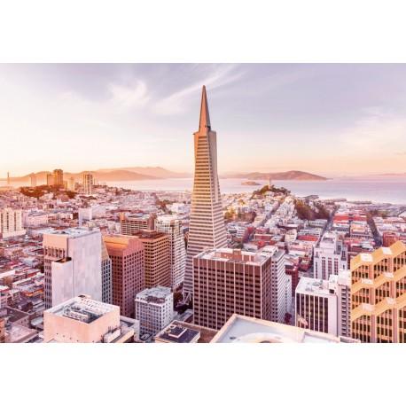 Fototapet Rasarit in San Francisco