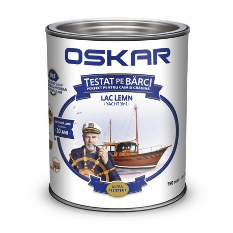 Lac lucios Oskar Yacht Trandafir 2.5L pentru barci