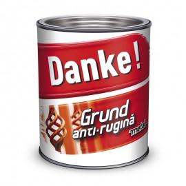 Grund rosu oxid anticoroziv pentru metal Danke 0.7L