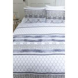 Lenjerie pat moderna cu plase pescaresti
