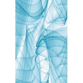 Autocolant modern Murano bleu