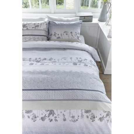 Lenjerie de pat din bumbac Pale Gri