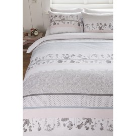 Lenjerie de pat din bumbac Pale Pastel