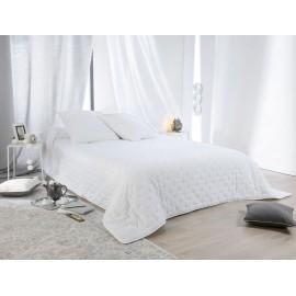 Cuvertura de pat alba Leonie