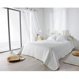 Cuvertura pat alba Verdon