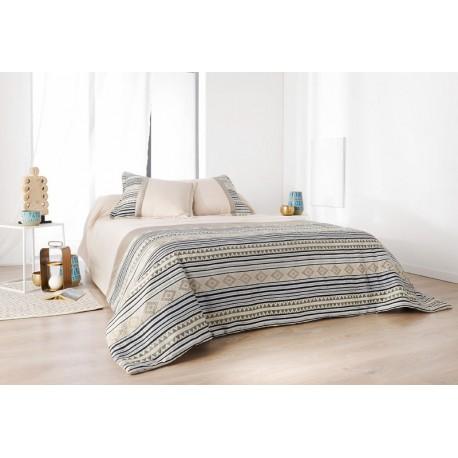 Cuvertura de pat bej Inca