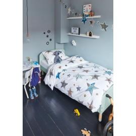 Lenjerie de pat copii cu stelute