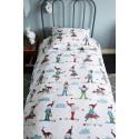 Lenjerie de pat copii cu spiridusi