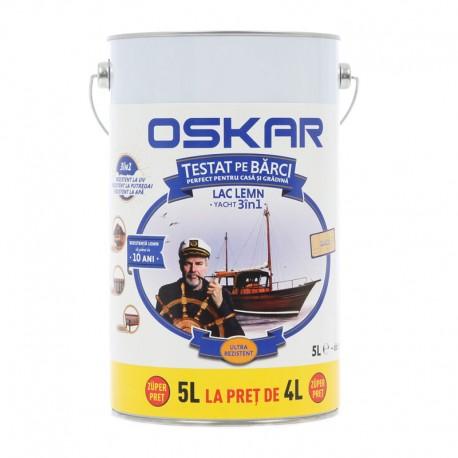 Lac pentru lemn Oskar Yacht 3in1 incolor 5L
