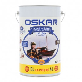 Lac pentru lemn Oskar Yacht 3in1 Mahon inchis 5L