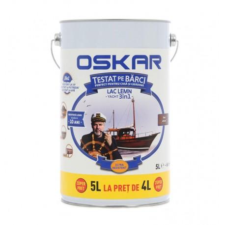 Lac pentru lemn Oskar Yacht 3in1 Teak african 5L