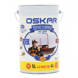 Lac pentru lemn Oskar Yacht 3in1 Trandafir 5L