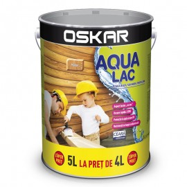 Oskar Aqua Lac pentru lemn Mahon 5L
