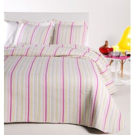 Cuvertura de pat moderna Velaux cu dungi