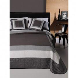 Cuvertura de pat gri Marbore