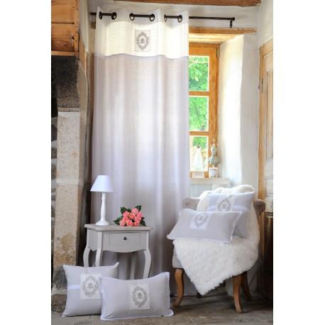 Draperie dormitor Charmille clasica