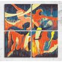 Tablouri canvas abstracte Dans