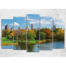 Tablouri canvas 5 piese - Central Park