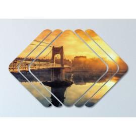 Tablouri canvas peisaje Sena la apus