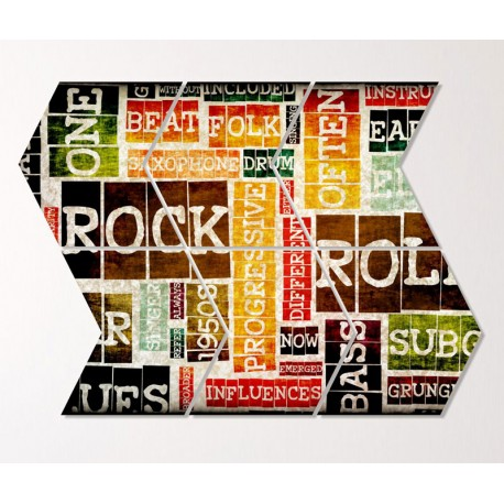 Tablouri canvas Nostalgie rock