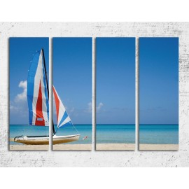 Tablouri canvas din bucati - Plaja
