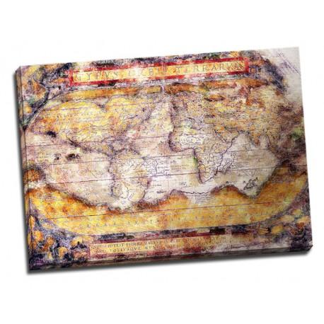Tablou Harta lumii antice