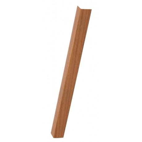 Profil PVC protectie colt 20x20mm - nuante lemn