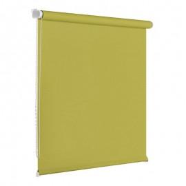 Roleta textila verde 75x160 cm Blackout