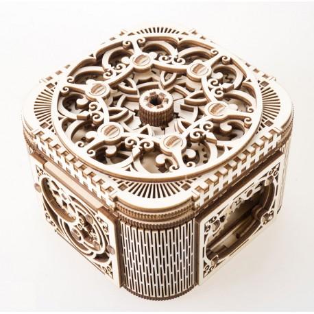 Cutie bijuterii cu mecanism secret