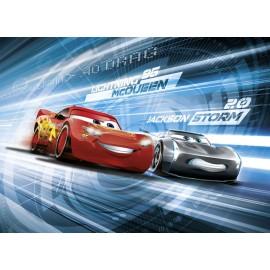 Fototapet Lightning McQueen si Jackson Storm